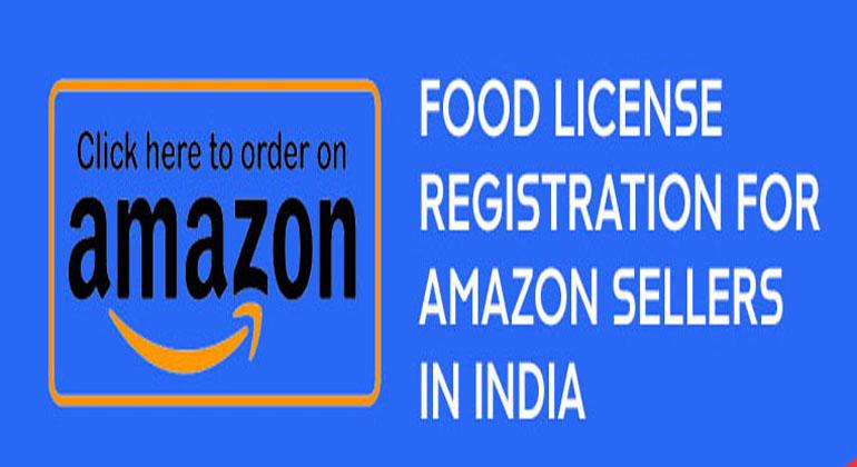 FSSAI Registration for Amazon Sellers