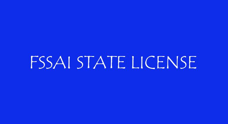 FSSAI State License